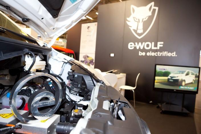 Award für eWolf - eCarTec 2011