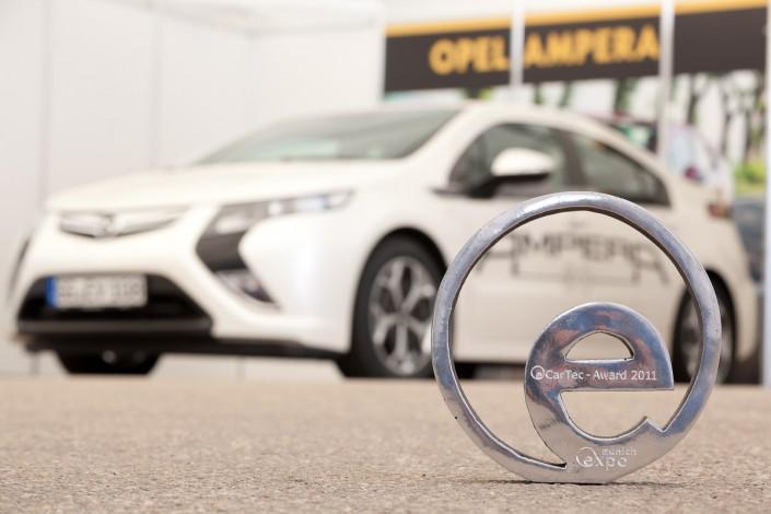 eCarTec 2011 Preisträger Award Opel Ampera