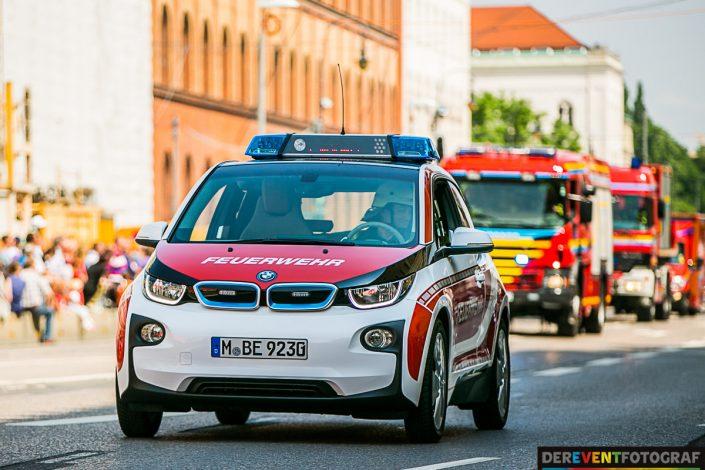 Ein Feuerwehrauto der Zukunft? schnell zum Einsatz - mit Strom!