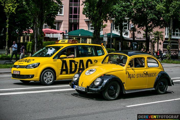 Firetage 2016 - Fahrzeuge des ADAC gestern und heute