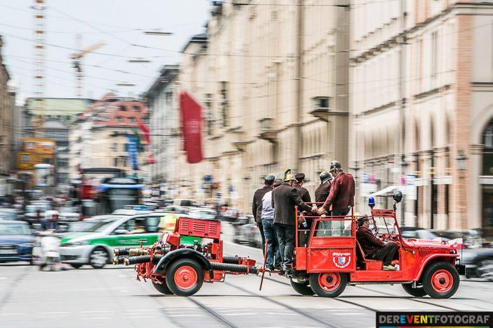 Firetage 2016 - unterwegs auf dem Altstadtring - hier an der Maximiliansstrasse