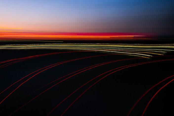 Sonnenuntergang - AllianzArena München